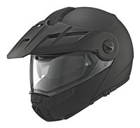 Schuberth E1 Flip Front Motorcycle Helmet (Matt Black)