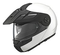 Schuberth E1 Flip Front Motorcycle Helmet (White)**20% Off Matching Intercom System**