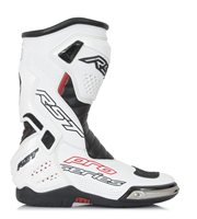 RST Pro Series Motorcycle Race Boot 1503 (White/Black)