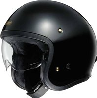 Shoei J.O Open Faced Helmet (Black)