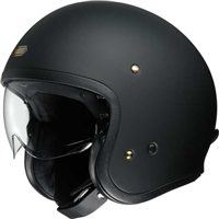 Shoei J.O Open Faced Helmet (Matt Black)