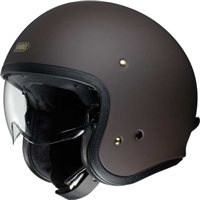 Shoei J.O Open Faced Helmet (Matt Brown)