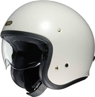 Shoei J.O Open Faced Helmet (Off White)