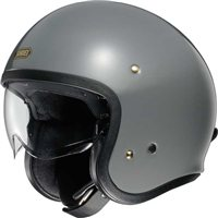 Shoei J.O Open Faced Helmet (Rat Grey)