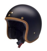 Hedon Hedonist STABLE Open Faced Motorcycle Helmet (Matt Black)