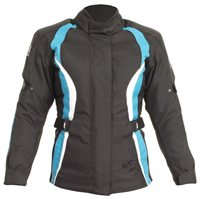 RST Diva III Ladies Motorcycle Jacket 1255 (Turquoise)