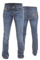 RST Ladies Aramid Jeans Straight Leg 2220 & 2221 (Blue)