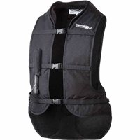 Helite Turtle Shell Motorcycle Airbag Vest (Black)