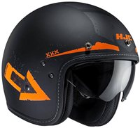 HJC FG-70s TALES Open Faced Helmet (Orange)