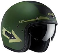HJC FG-70s TALES Open Faced Helmet (Green)