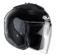 HJC IS-33 II Open Face Helmet (Black)