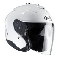 HJC IS-33 II Open Face Helmet (White)