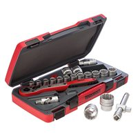 "Teng 21 Piece, 1/2"" Drive, 12 Point, Socket Set"