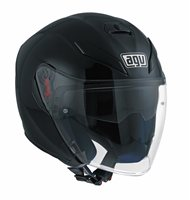 AGV K5 Jet Open Face Helmet (Matt Black)