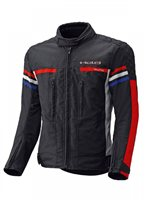 Held Kids Textile Motorcycle Jacket Jakk (Black/White/Red/Blue)