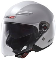 LS2 Track OF569 Open Face Helmet (White)
