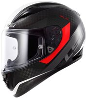 LS2 FF323 Arrow C Tronic Carbon Motorcycle Helmet (White) FREE PINLOCK