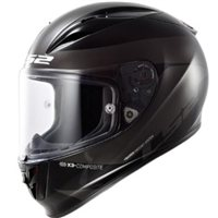 LS2 FF323 Arrow R Comet Motorcycle Helmet (Black/Titanium)