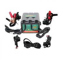 Deltran 2-Bank Battery Charger 12V @ 1.25A Each Bank - USA & Western Hemisphere