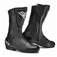 Sidi Black Rain Motorcycle Boots (Black)