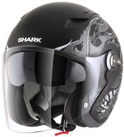Shark RSJ Open Faced Helmet Hotspur Mat