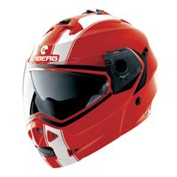 Caberg  Duke Legend Flip Front Helmet (Red/White)