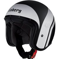 Caberg Freeride Mistrel Open Faced Helmet (Matt Black/White)