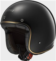 LS2 OF583 BOBBER Open Faced Helmet (Gloss Black)