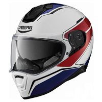 Caberg Drift Tour Motorcycle Helmet (White/Red/Blue)