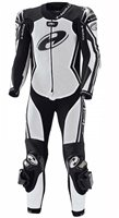 Held Full-Speed One Piece Race Suit (White/Black)