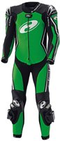 Held Full-Speed One Piece Race Suit (Green/Black)