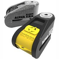 Oxford Alpha XA14 ALARM Disc Lock - All Colours