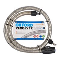 Oxford Revolver - Armoured Cable Lock - Lightweight Scooter Version