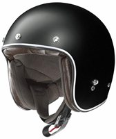 X-Lite X-201 FRESNO Open Faced Carbon Helmet (Flat Black)