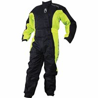 Richa Typhoon Rain Suit (Black/Flow Yellow)