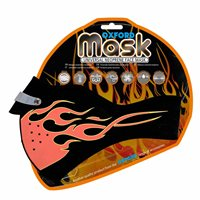 Oxford Face Mask Flames