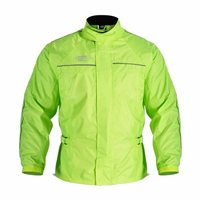 Oxford All Weather Over Jacket (Flo Yellow)
