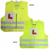 Oxford Hi Vis Bright Vest With L Plate