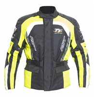 RST Isle Of Man TT Alpha IV Textile Motorcycle Jacket (Fluo Yellow)