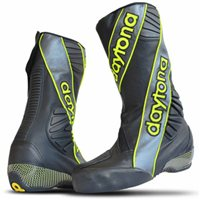 Daytona Security Evo 3 Race Boots (Black/Gun/Yellow) -OUTER ONLY