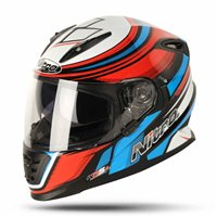 Nitro NRS-01 TORQUE Motorcycle Helmet (Black/Red/Blue)
