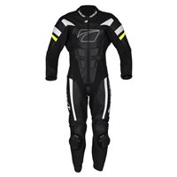 Spada CURVE EVO One Piece Leather Suit (White/Fluo Yellow)