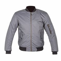 Spada Air Force One Textile Motorcycle Jacket (Platinum)