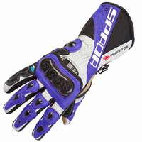 Spada Predator II Motorcycle Gloves (Blue)