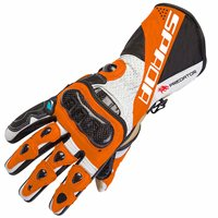 Spada Predator II Motorcycle Gloves (Orange)