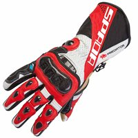 Spada Predator II Motorcycle Gloves (Red)