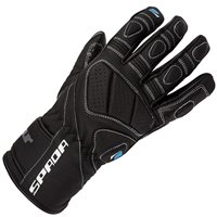 Spada Burnout Motorcycle Gloves (Black)