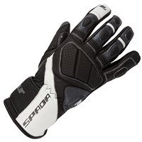Spada Burnout Motorcycle Gloves (Black/White/Anthracite)