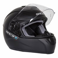 Spada SP16 Motorcycle Helmet (Matt Black)