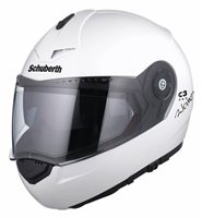 Schuberth C3 PRO WOMEN Flip Up Helmet (Glossy White)